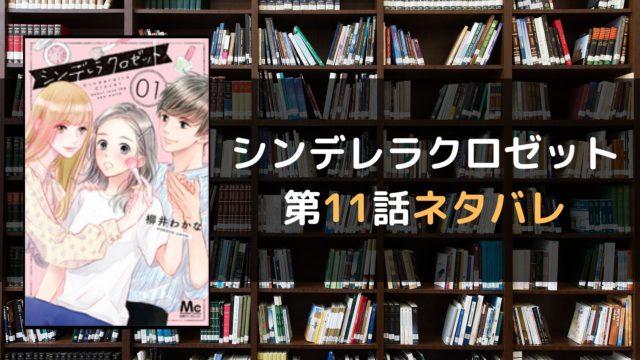 シンデレラクロゼット 第11話ネタバレ